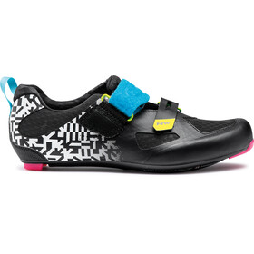 Northwave Tribute 2 Carbon Scarpe Uomo, white black/multicolor